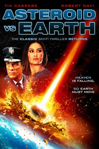 Asteroid vs Earth Poster