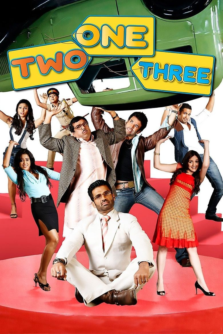 One Two Three Poster