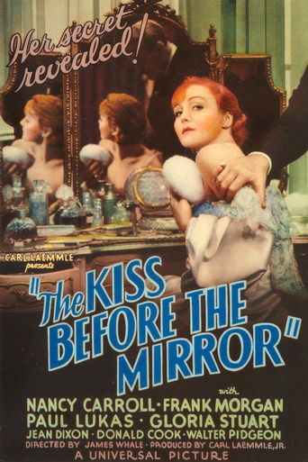 The Kiss Before the Mirror Poster