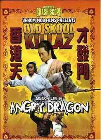 The Angry Dragon Poster