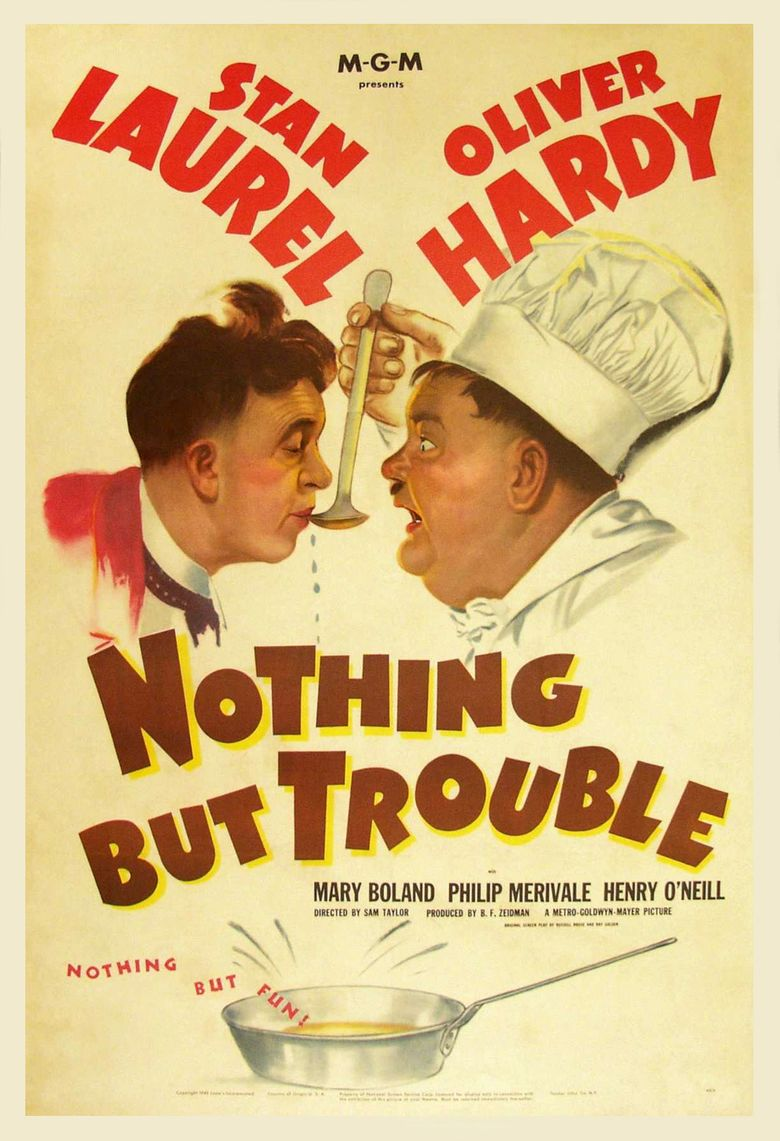 Nothing But Trouble Poster