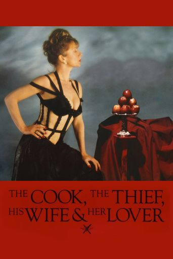 The Cook, the Thief, His Wife & Her Lover Poster