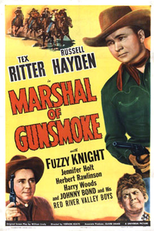 Marshal of Gunsmoke Poster