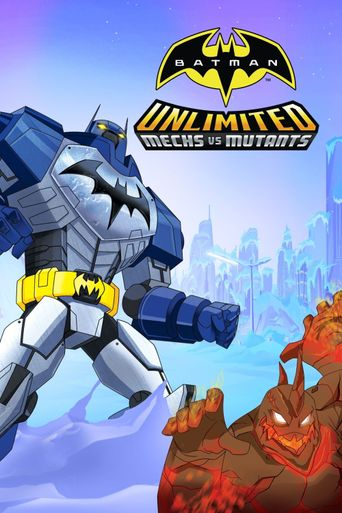 Batman Unlimited: Mechs vs. Mutants Poster