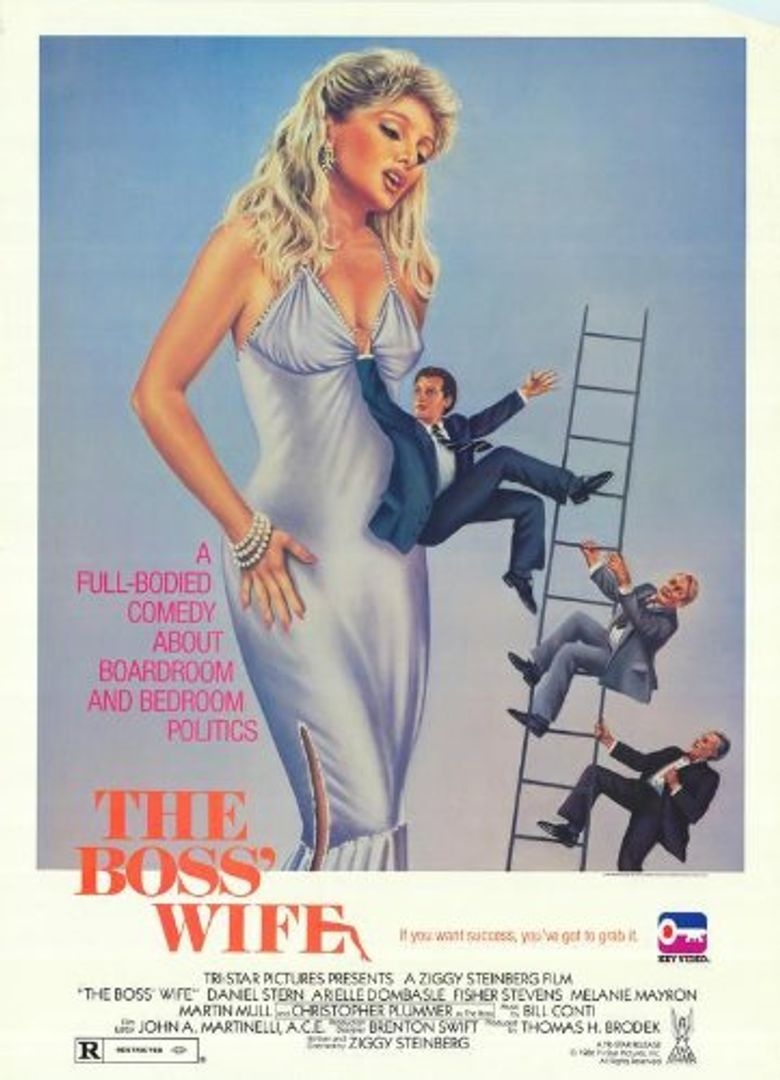 The Boss' Wife Poster