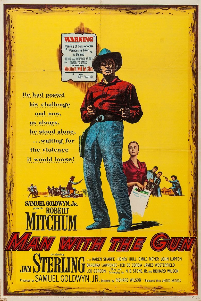 Man with the Gun Poster