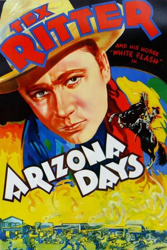 Arizona Days Poster