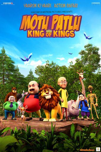 Motu Patlu: King Of Kings Poster