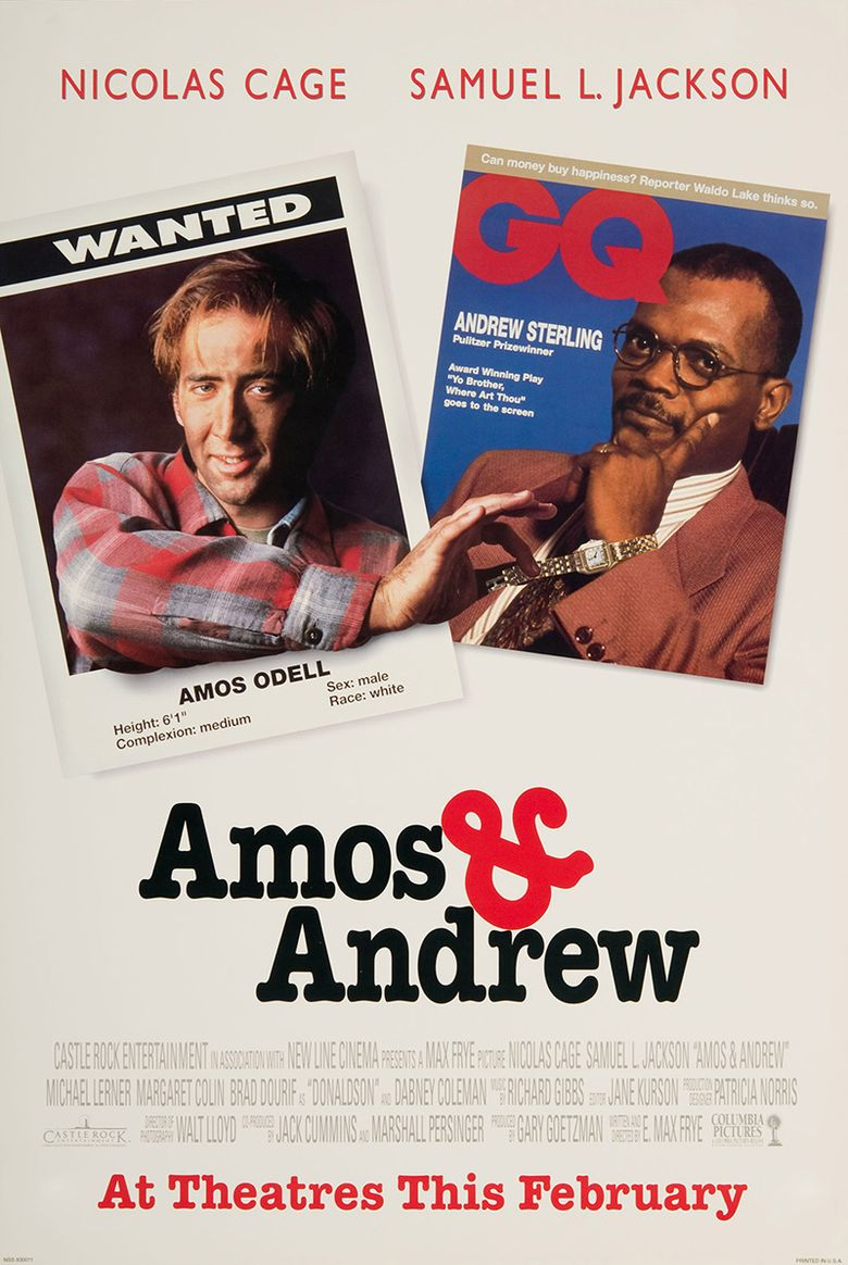 Amos & Andrew Poster