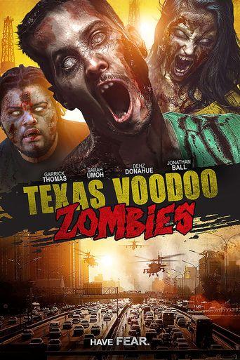Texas Voodoo Zombies Poster