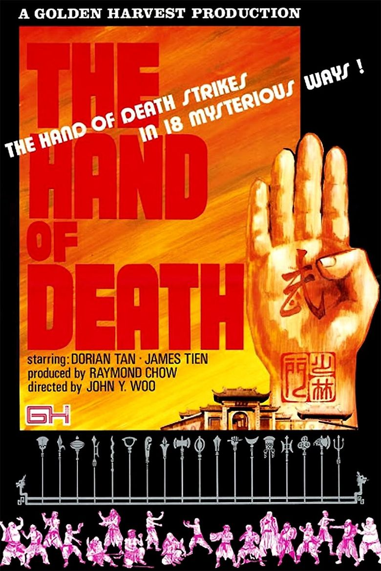 Hand of Death Poster
