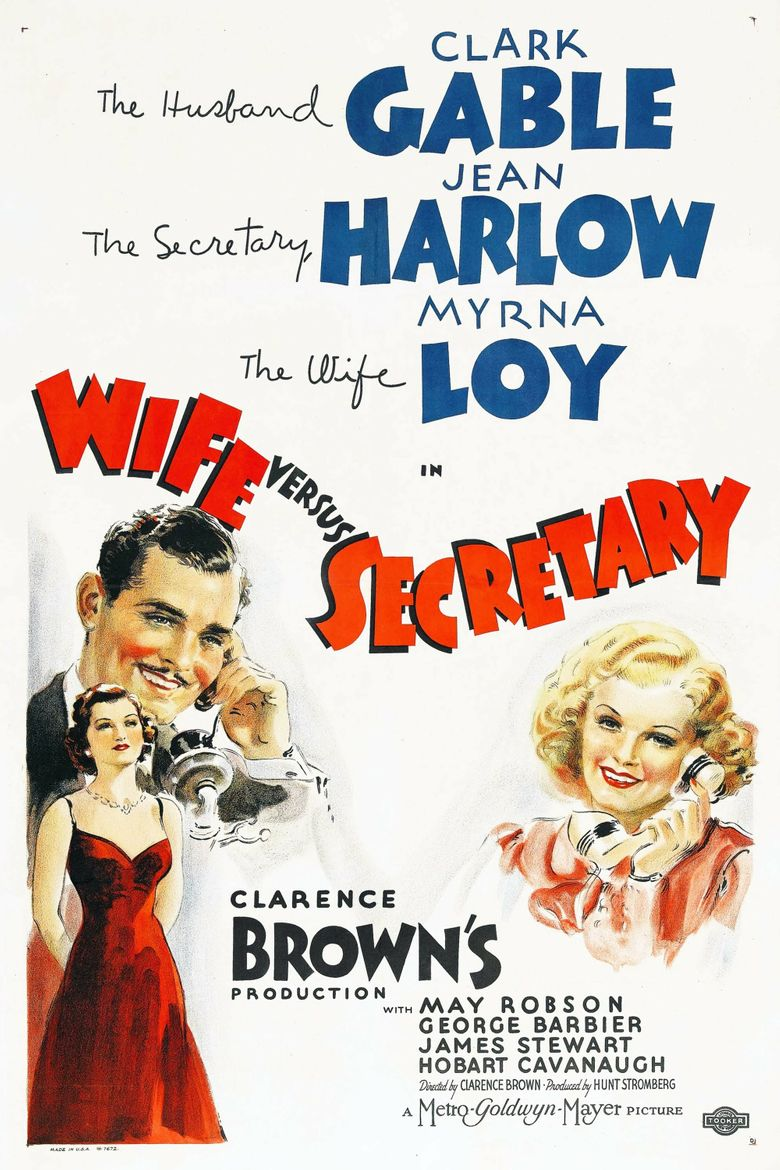 Wife vs. Secretary Poster