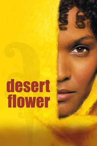 Desert Flower Poster