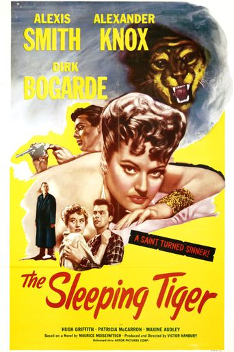 The Sleeping Tiger Poster