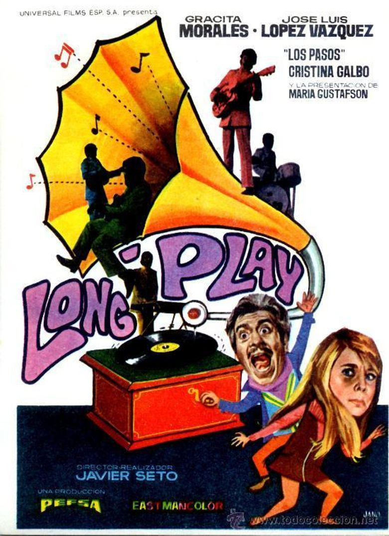 Long Play Poster