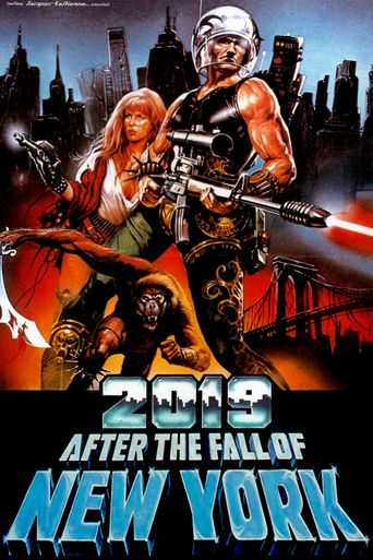 2019: After the Fall of New York Poster