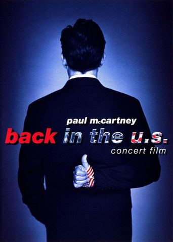 Paul McCartney - Back in the U.S. Poster