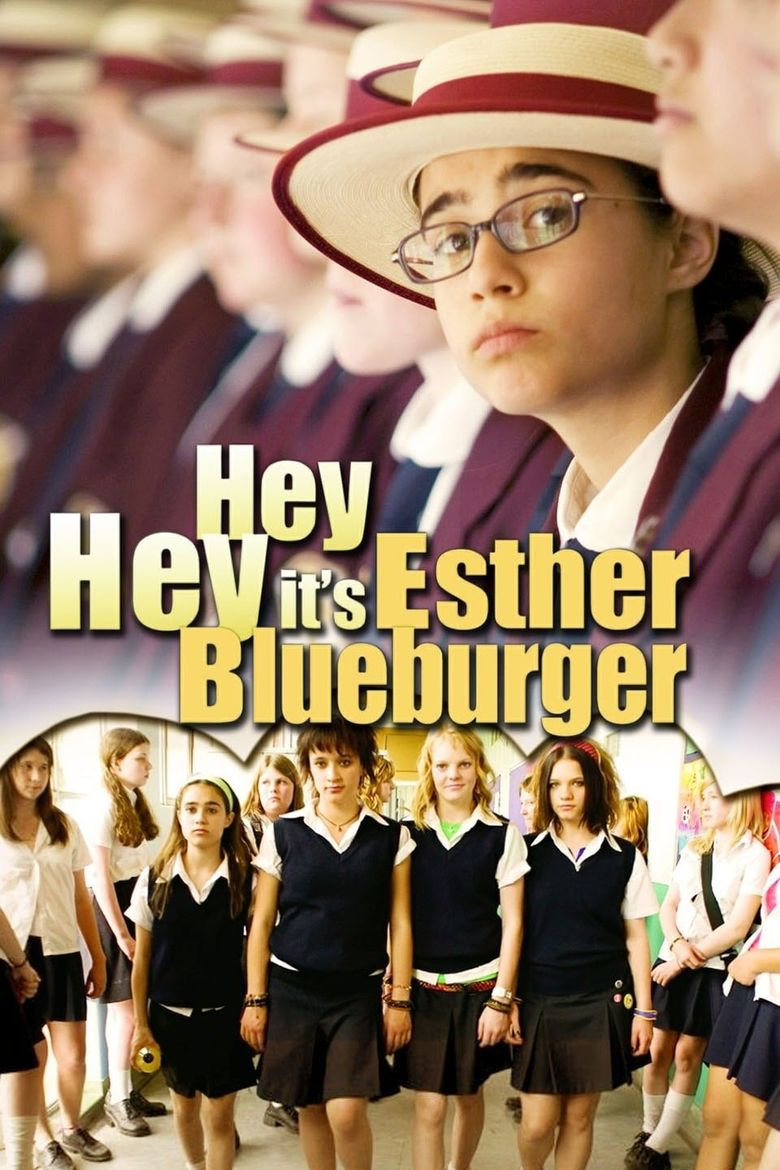 Hey Hey It's Esther Blueburger Poster