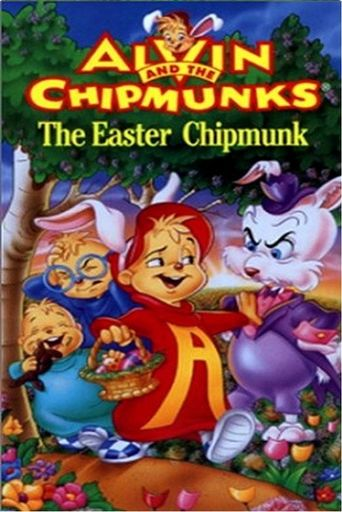 The Easter Chipmunks Poster