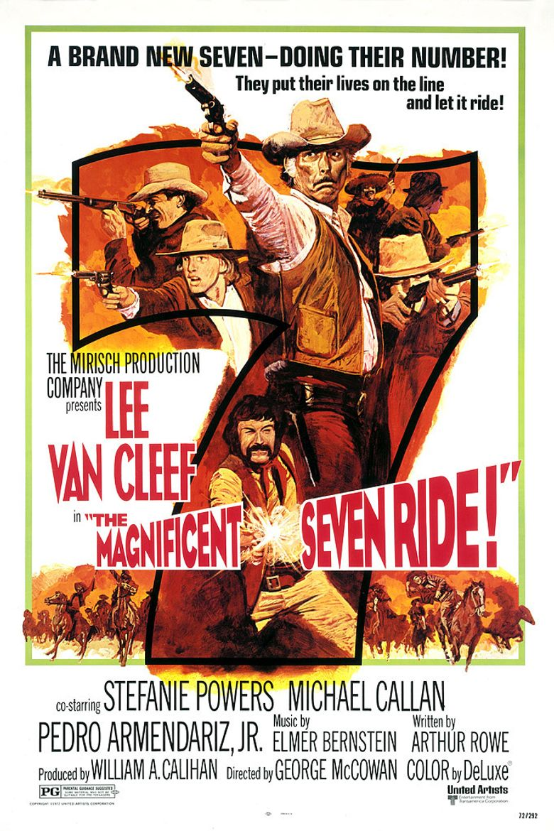 The Magnificent Seven Ride! Poster