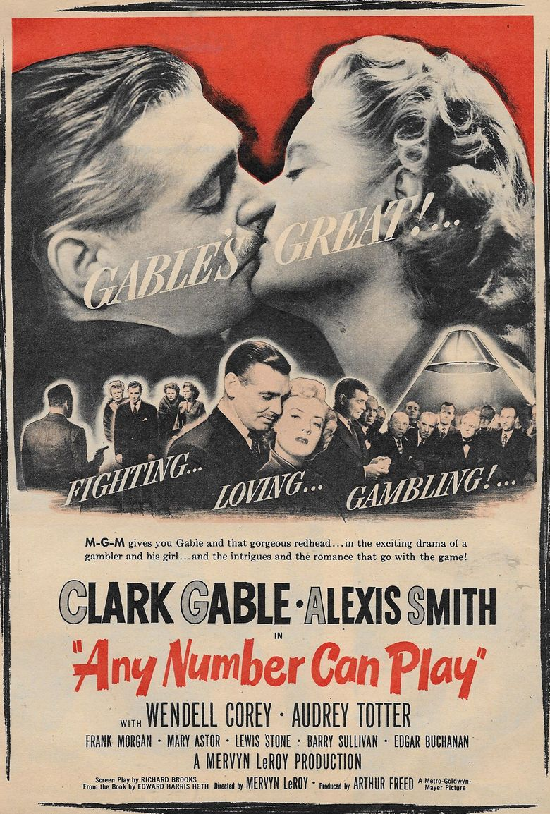 Any Number Can Play Poster