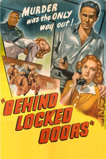 Behind Locked Doors Poster