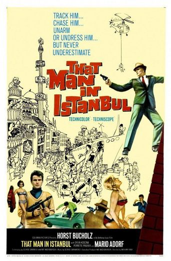 That Man in Istanbul Poster