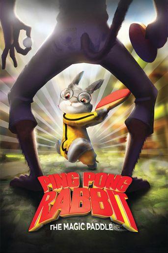 Ping Pong Rabbit Poster