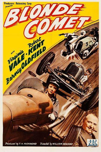 Blonde Comet Poster