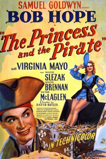 The Princess and the Pirate Poster
