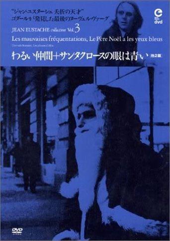 Santa Claus Has Blue Eyes Poster