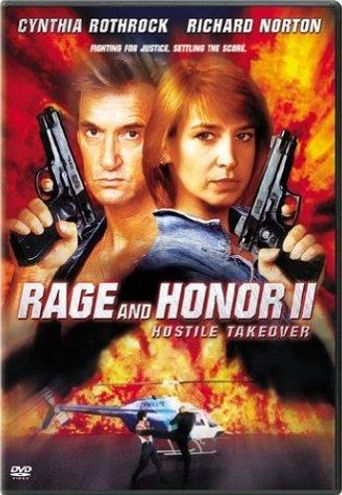 Rage and Honor II: Hostile Takeover Poster