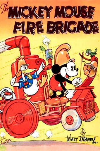 Mickey's Fire Brigade Poster