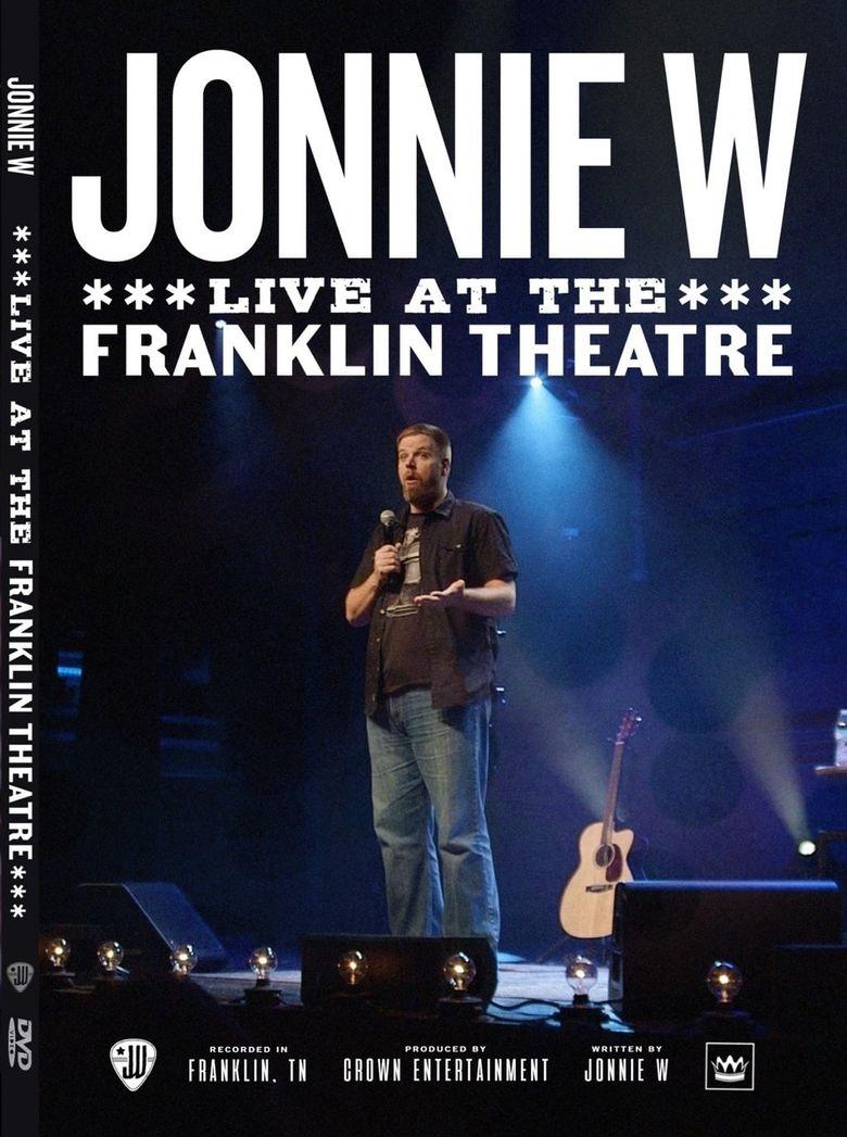 Jonnie W - Live at the Franklin Theatre Poster