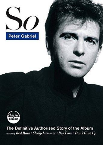 Peter Gabriel - So Poster