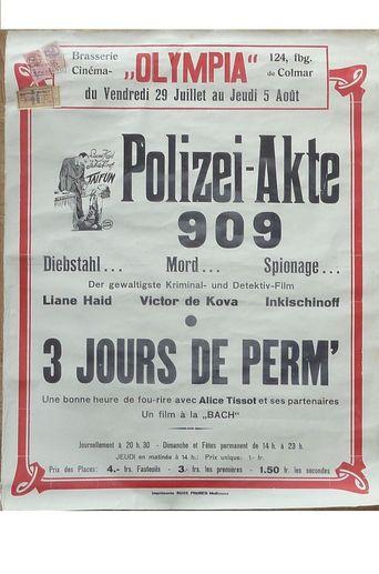 Polizeiakte 909 Poster
