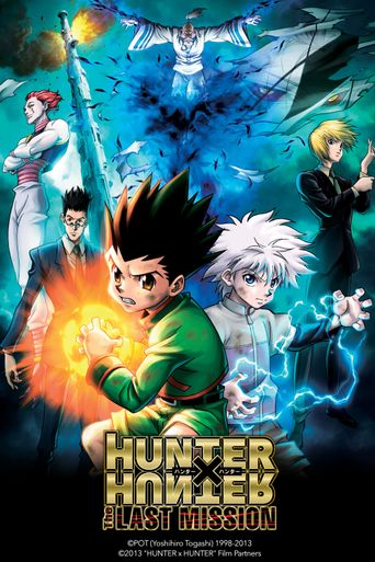 Hunter x Hunter: The Last Mission Poster
