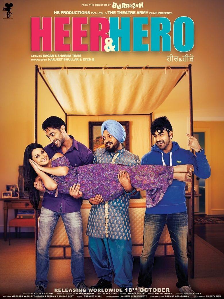 Heer & Hero Poster