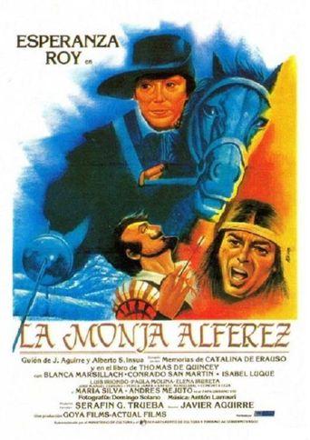 La monja alférez Poster