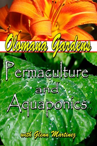 Olomana Gardens Permaculture and Aquaponics Poster