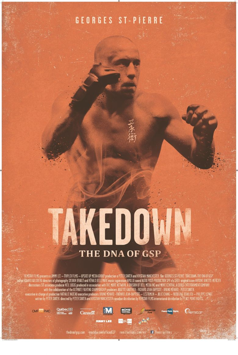 Takedown: The DNA of GSP Poster