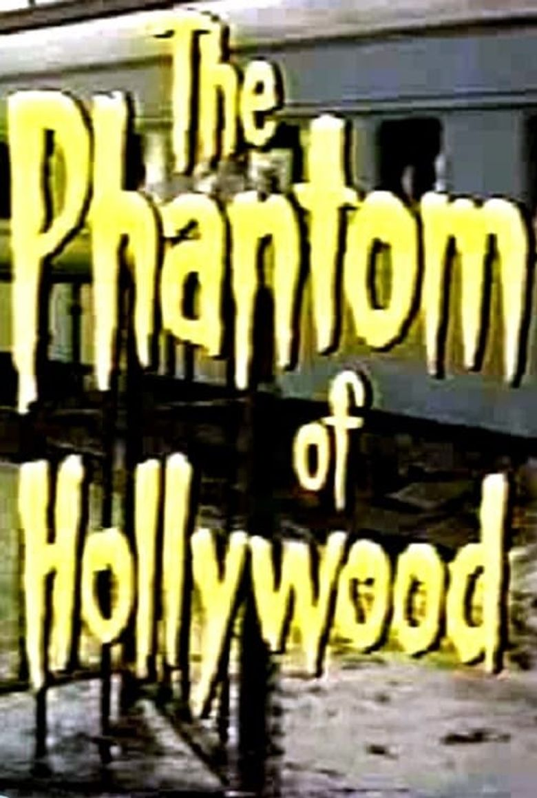 The Phantom of Hollywood Poster