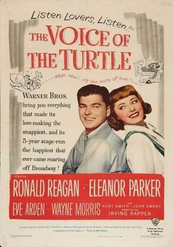 The Voice of the Turtle Poster
