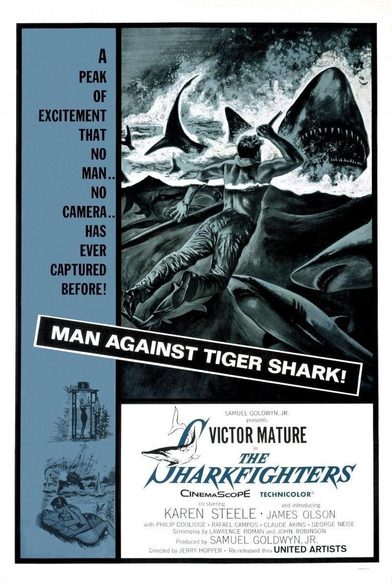 The Sharkfighters Poster