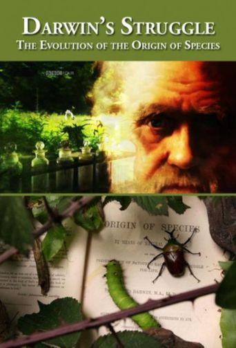 Darwin's Struggle: The Evolution of the Origin of Species Poster