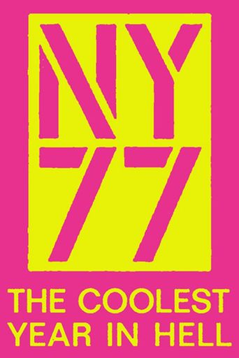 NY77: The Coolest Year in Hell Poster