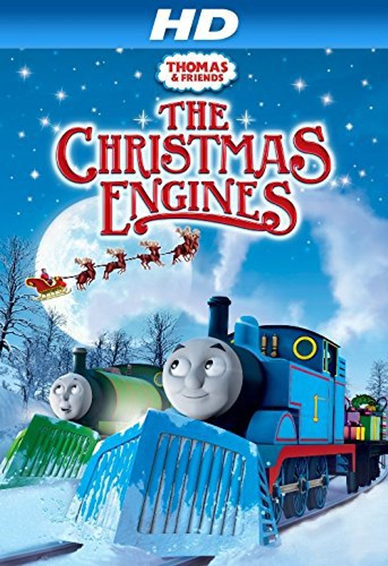 Thomas & Friends: The Christmas Engines Poster