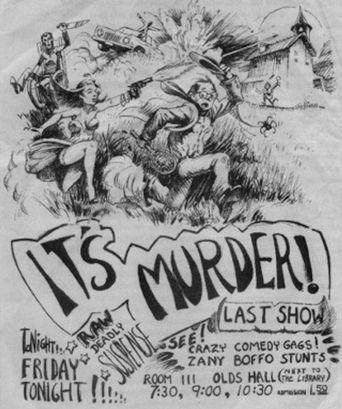 It's Murder! Poster