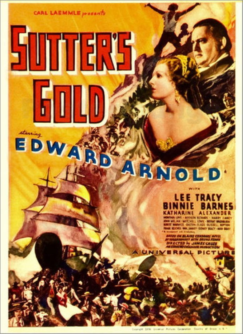 Sutter's Gold Poster