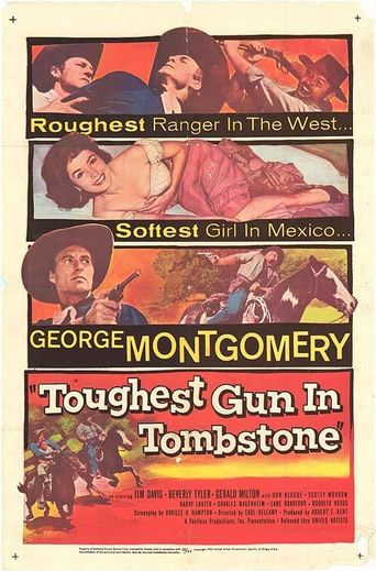 The Toughest Gun in Tombstone Poster